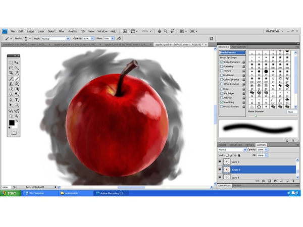 arul-apple-painting-6